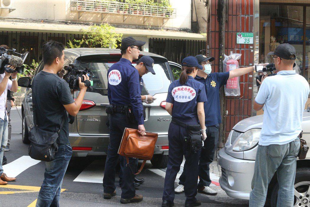 台北市議員李新28日清晨墜樓身亡,警方表示,初步判斷李新從11樓外牆墜落,沒有發...