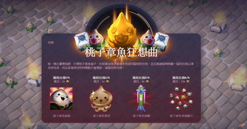 即日起至10月17日止,「桃子章魚狂想曲」遊戲內任務開跑