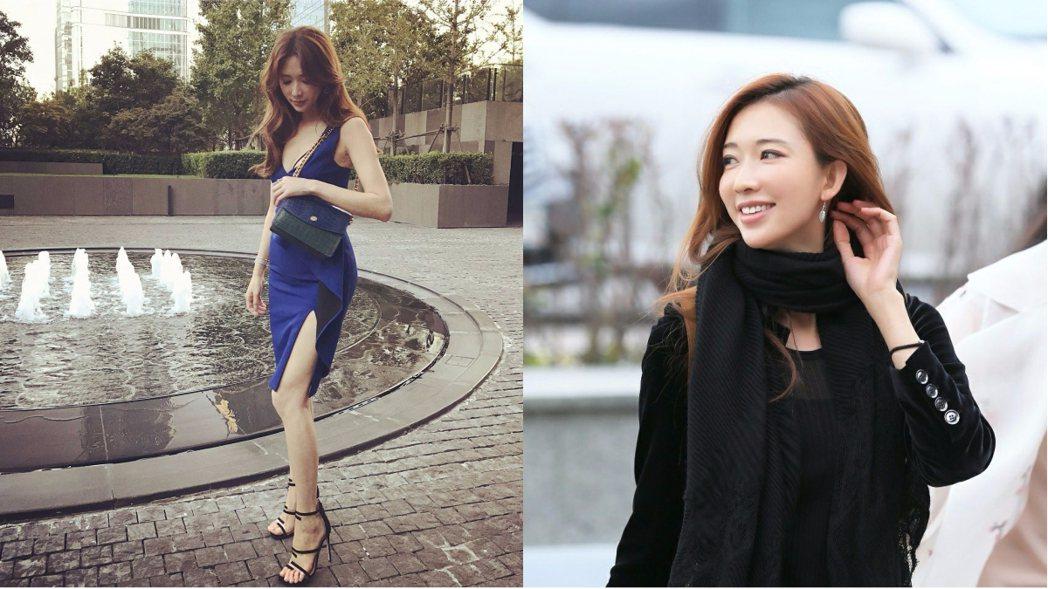 林志玲常在社群網站分享時尚美照。圖/擷自臉書