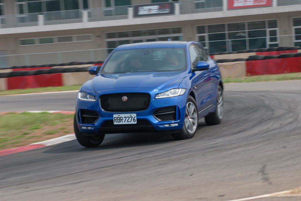 18年式Jaguar F-Pace上市。記者林昱丞/攝影
