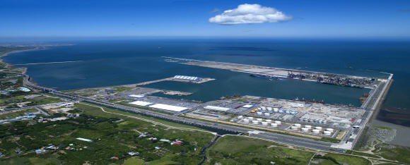 中油或可在淡水河北側、台北港、林口港三處挑選一處,作為第三接收站的基地。(pho...