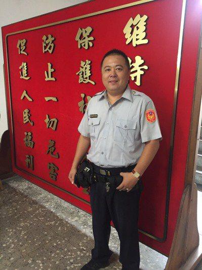台南市新營警分局中山路派出所警員沈御紘。圖/警方提供