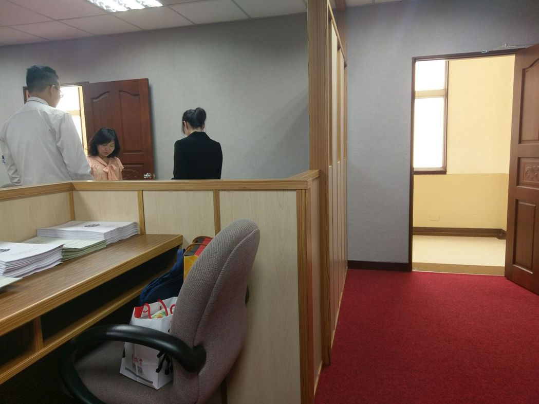 新改裝的司法及法制委員會。記者劉宛琳/攝影