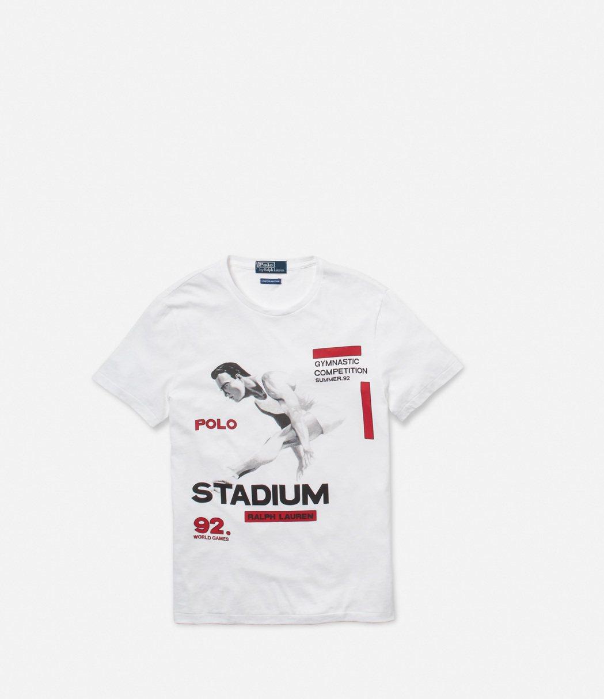 Polo Stadium系列T恤,復古中有新潮感。圖/Ralph Lauren提