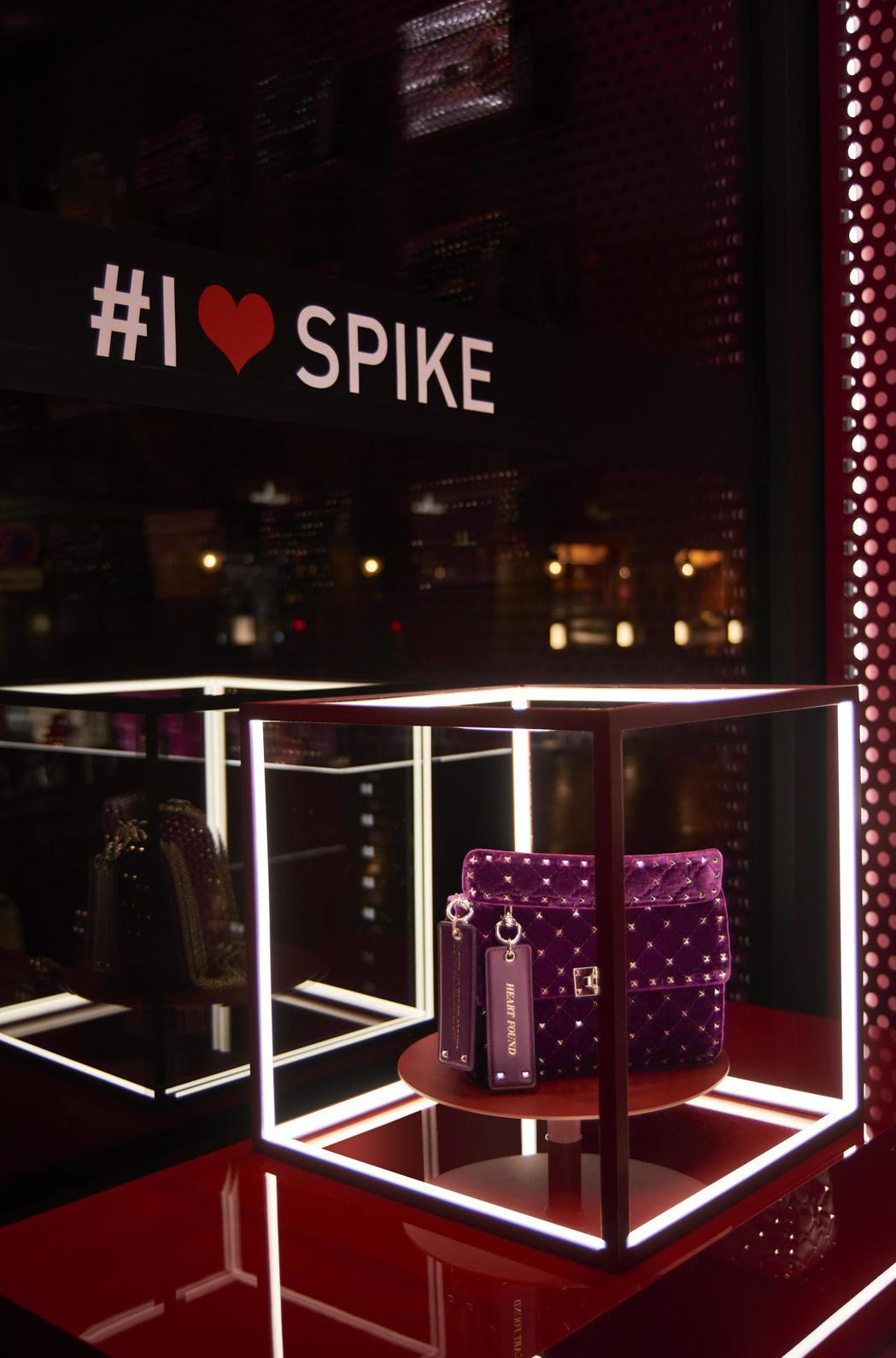 「I LOVE SPIKE」Hotel Costes期間限定店。圖/Valent...