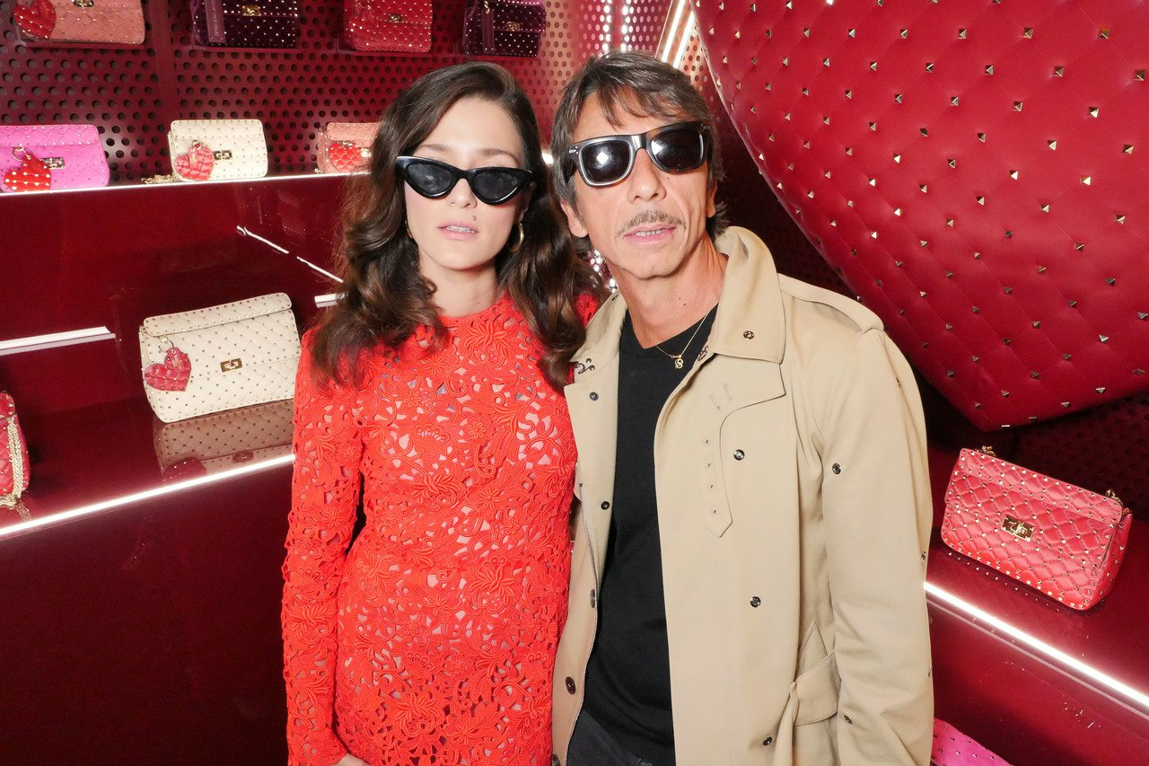 時尚部落客Eleonora Carisi與Valentino創作總監Pierpa...