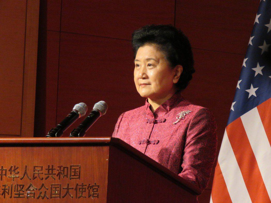 美國總統川普28日將在白宮會見中國大陸國務院副總理劉延東。華盛頓記者張加/攝影
