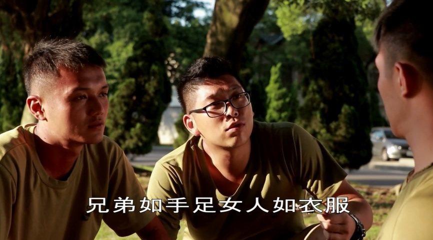 海軍陸戰隊66旅也自行拍攝一輯長達12分鐘的微電影,片中主人翁和女友分手後正陷入...