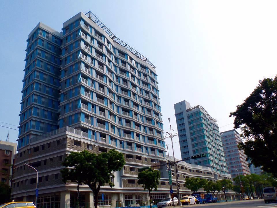 位於松山區的「健康公共住宅」預計年底完工,共計507戶。圖/北市都發局提供