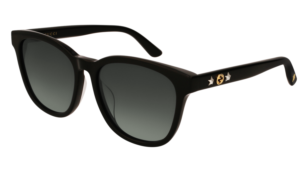 Gucci星星與蜜蜂裝飾太陽眼鏡,約12,865元。圖/Gucci提供