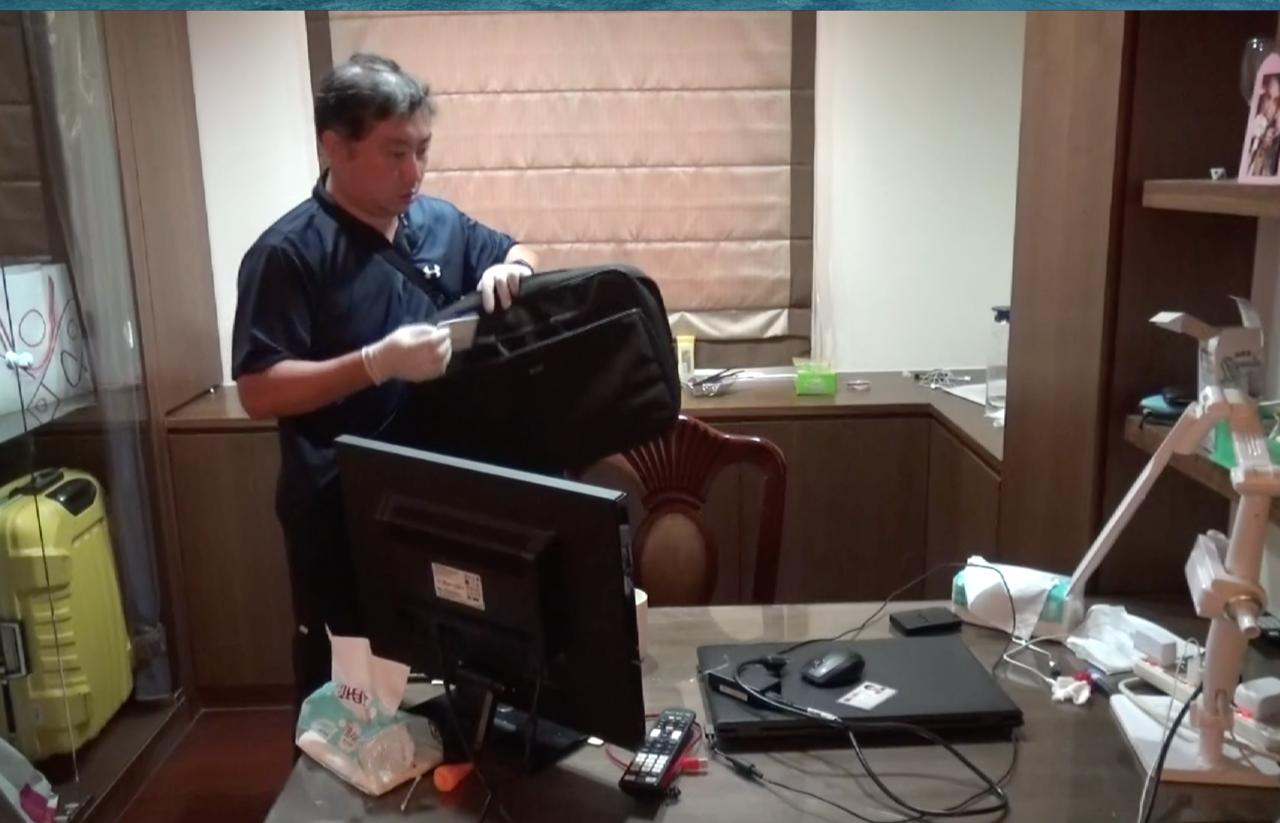 警方直搗提供給詐騙集團網路電話系統商。記者劉星君/翻攝