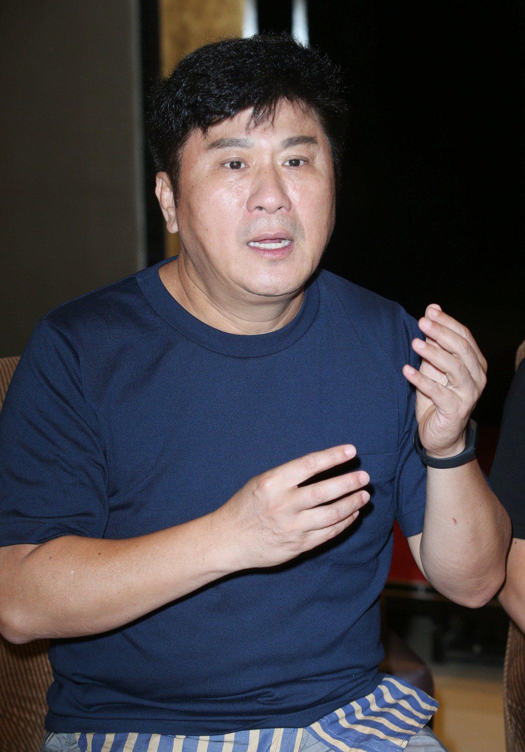 胡瓜談綜藝大集合主持甘苦。記者陳瑞源/攝影