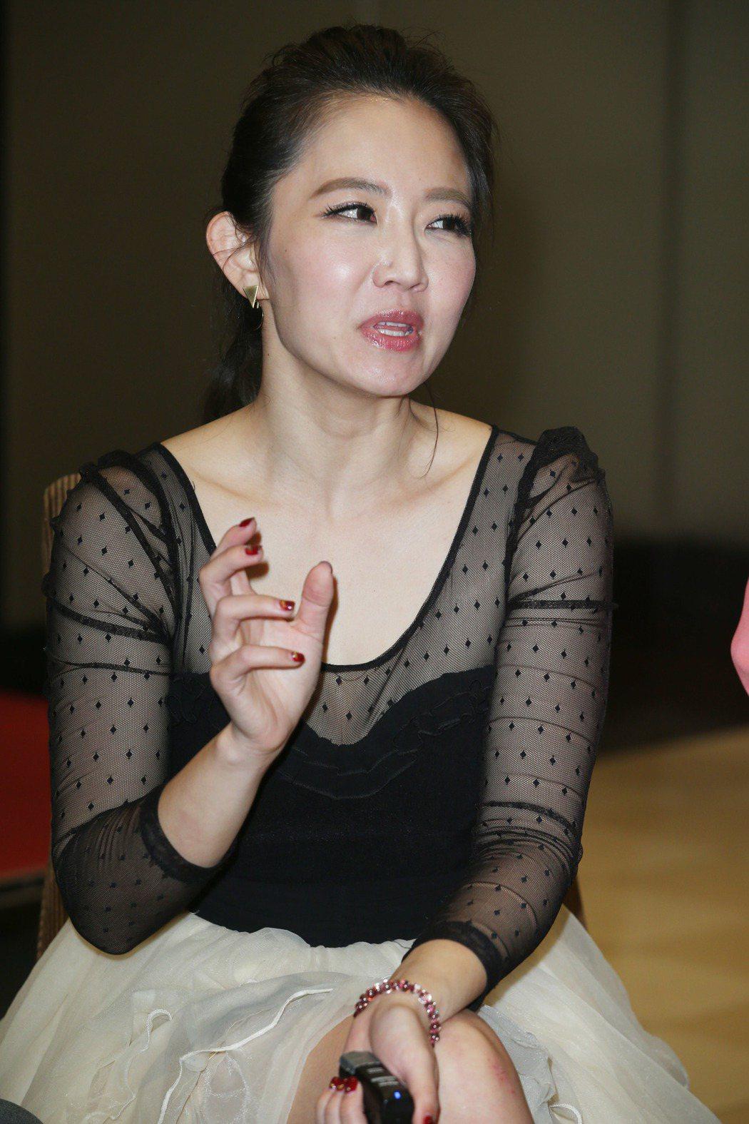 謝忻談綜藝大集合主持甘苦。記者陳瑞源/攝影