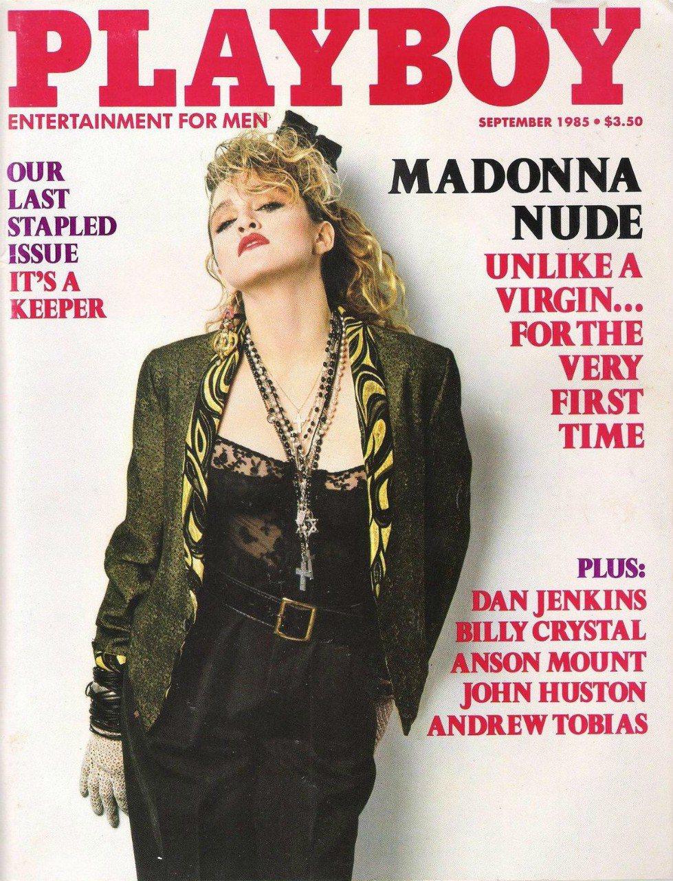 32年前,瑪丹娜旋風襲捲全球,登上「花花公子」封面。圖/摘自cbsnews