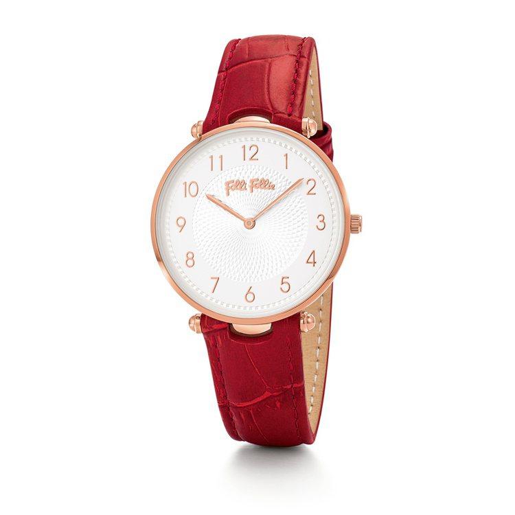 LADY CLUB系列腕表,7,090元。圖/Folli Follie提供
