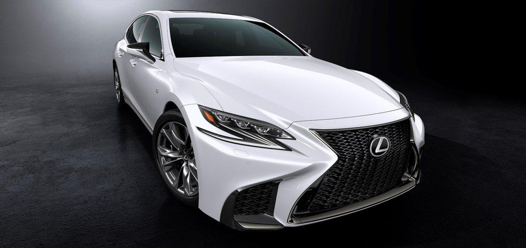 Lexus總代理和泰汽車將於第四季推出大改款旗艦房車LS,預售活動搶先開跑。圖/...