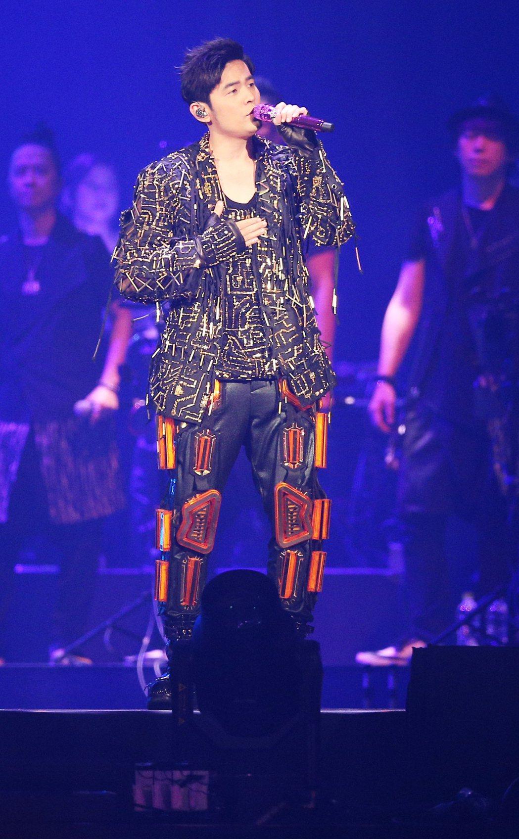 周杰倫28日起一連4天在台北小巨蛋開唱。記者陳正興/攝影