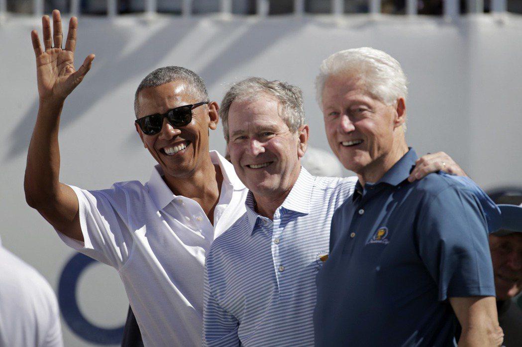 第12屆總統盃(Presidents Cup)高球賽今天熱鬧開打,美國前總統歐巴...