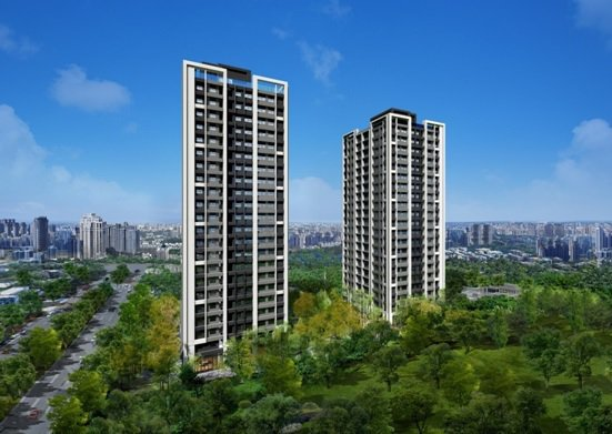 「國泰禾」順應基地條件,讓建築如同長在森林裡的大樹。 圖╱國泰禾 提供