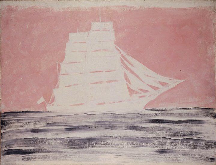 常玉作品「一帆風順」。圖/富邦藝術基金會提供
