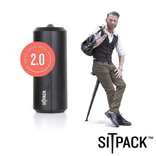 SitPack V2.0版 攝影師候景太空椅二代(排隊神器) 黑色,因先前活動廣...