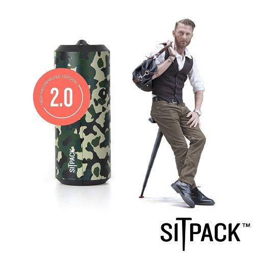 SitPack V2.0版 攝影師候景太空椅二代(排隊神器) 迷彩,因先前活動廣...