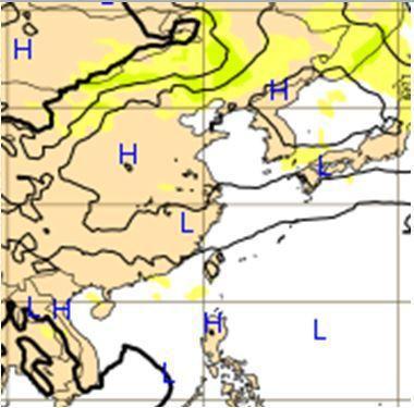 28日20時歐洲中期預報中心(ECMWF)模式,模擬中秋夜(4日20時)顯示,適...