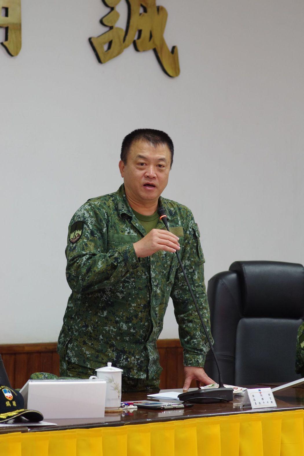 國防部聯三作戰次長姜振中,須坐鎮督考國軍操演,暫不異動。聯合報系資料照片