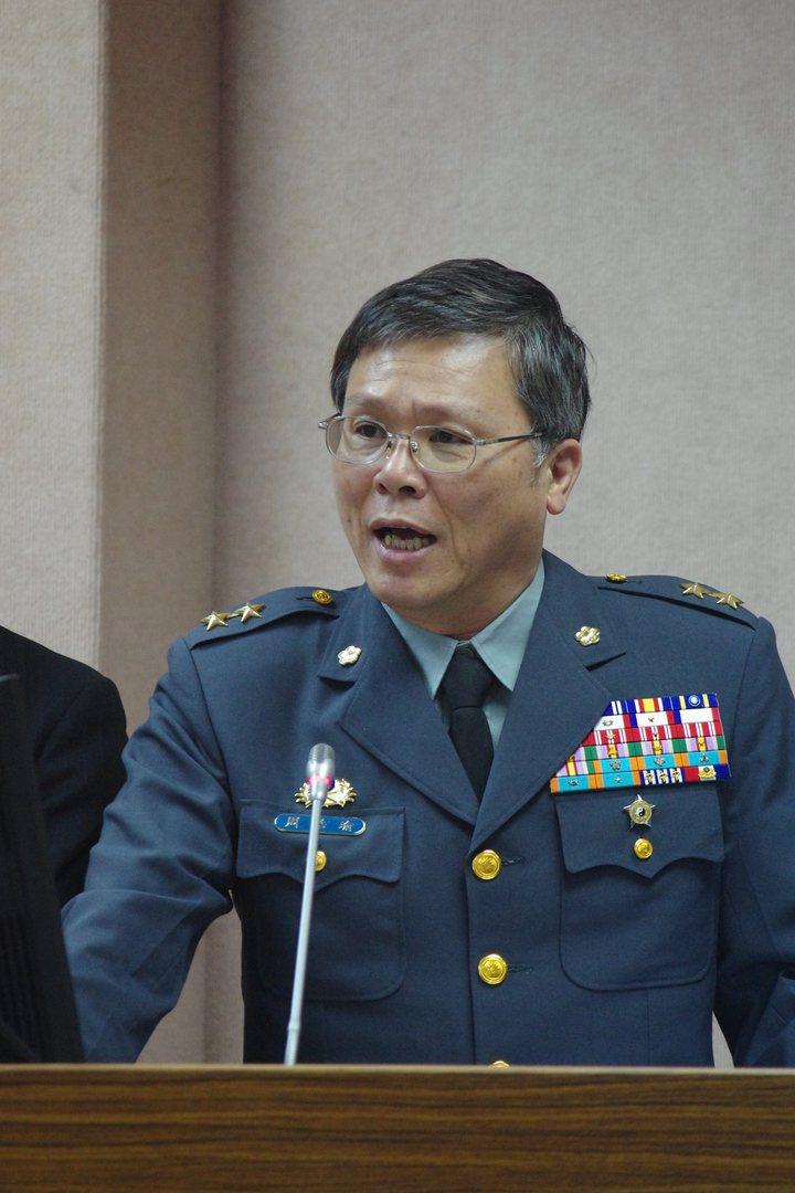 陸軍10軍團指揮官周皓瑜。聯合報系資料照片