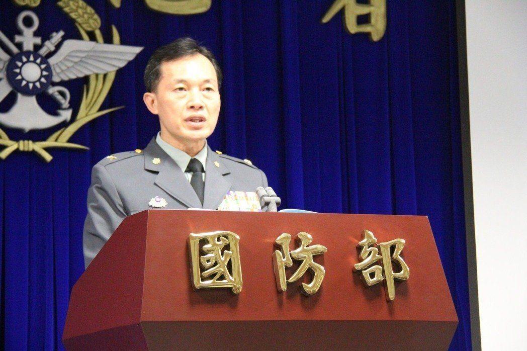 陸軍6軍團副指揮官鍾樹民。聯合報系資料照片