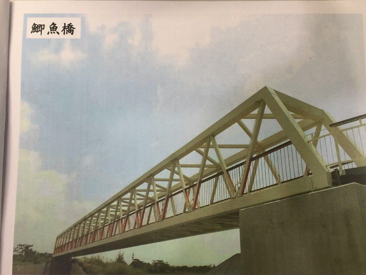 鯽魚橋。記者吳政修/翻攝