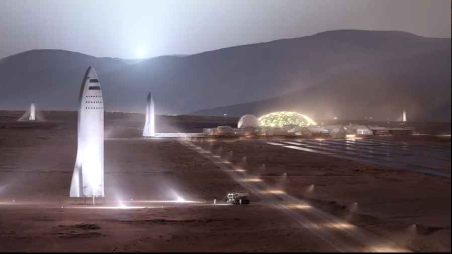 穆斯克指出,目前研發中的新火箭名為BFR,可在一小時內到達地球任何地點,上海到紐...