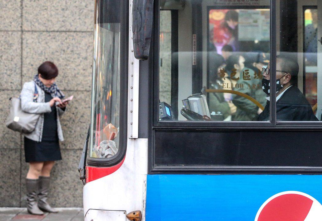 公車司機。本報資料照片 記者程宜華/攝影