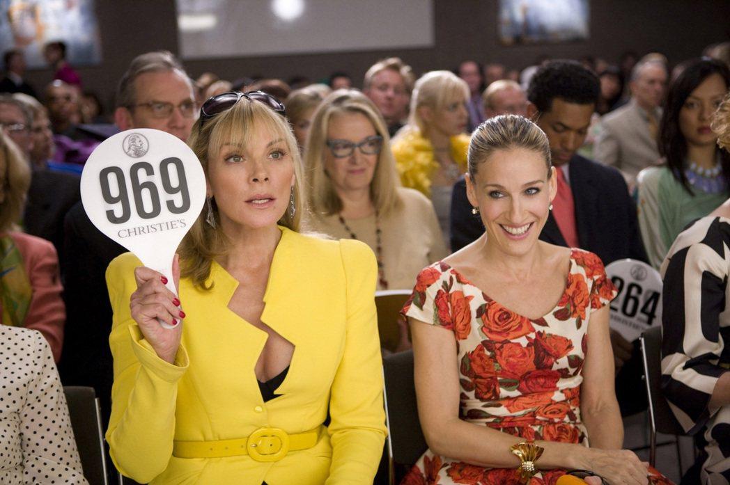 金凱特蘿(左),一直拒絕回歸「慾望城市」電影第3集。圖/摘自imdb