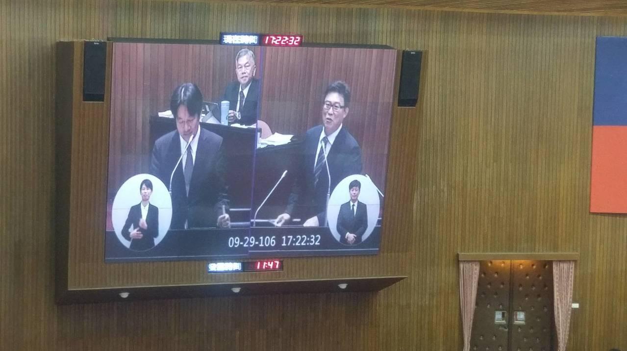 行政院長賴清德今(29)日回應台積電在台設廠,表示這對行政團隊來說是一劑強心針。...