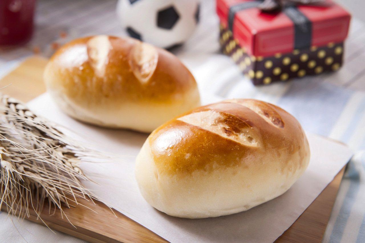 鹹香的鹼麵包,平凡卻美味。圖/中保無限家生活館提供