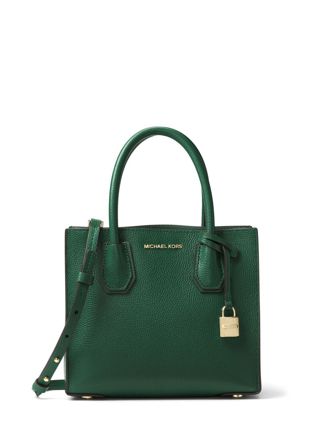 Mercer鮮綠色小方包,售價12,400元。圖/MICHAEL KORS提供