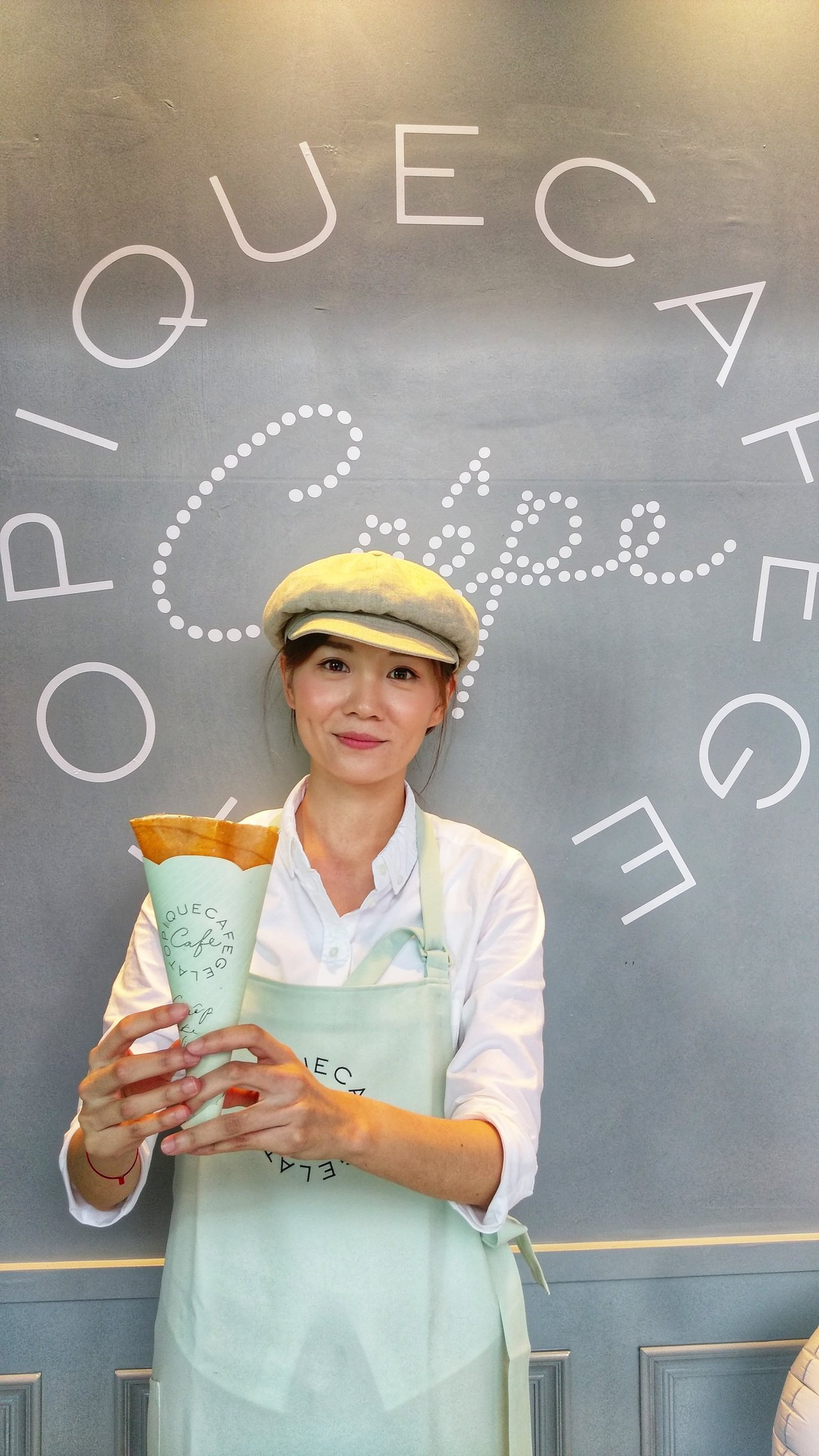gelato pique cafe creperie法式可麗餅,結合台灣在地食材...