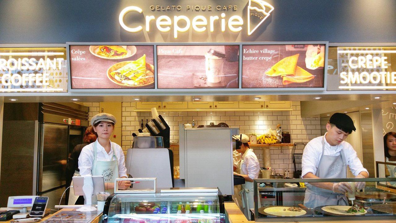 來自日本的gelato pique cafe creperie法式可麗餅專賣店,...