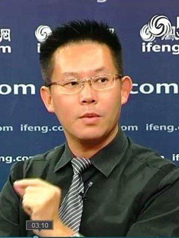 中研院近史所副研究員林泉忠。 圖片來源/「中研院」網站