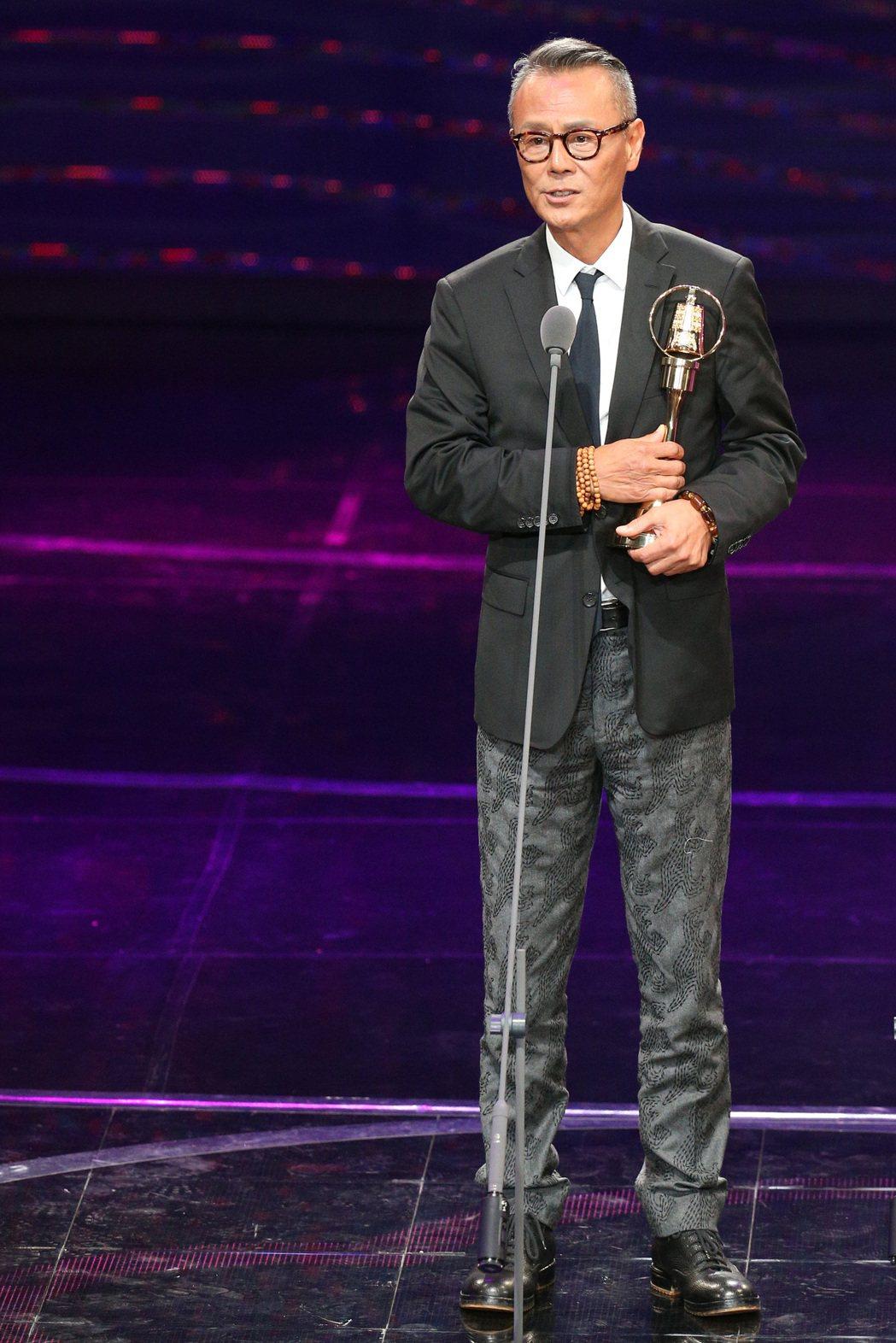 第52屆金鐘獎,劉德凱獲戲劇節目男主角獎。記者林伯東/攝影