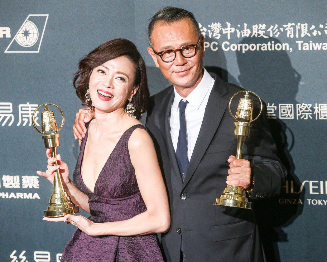 第52屆金鐘獎, 劉德凱、柯淑勤奪下戲劇節目男女主角獎。記者鄭清元/攝影