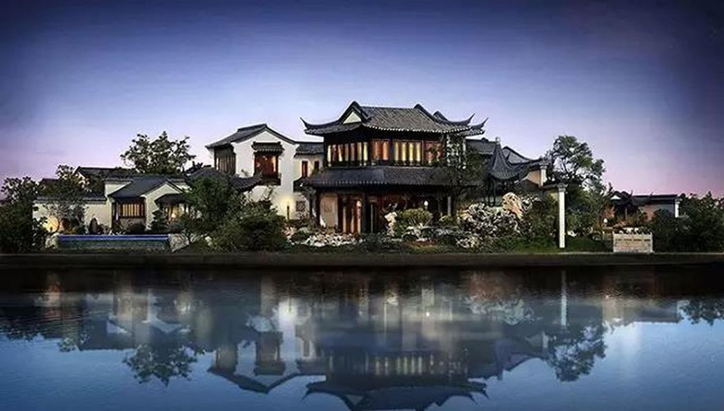 先前被指是馬雲的10億豪宅。(取材自微博)