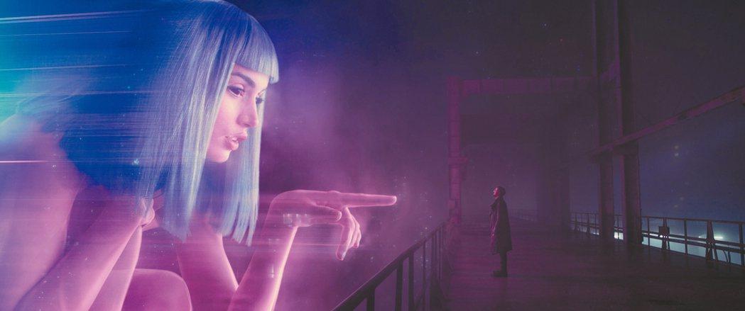 「銀翼殺手2049」中有極為酷炫的未來特效。 圖/索尼提供