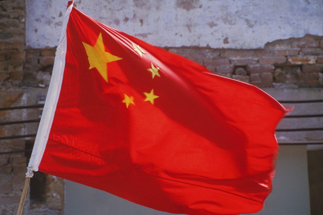 中國國旗。圖/ingimage