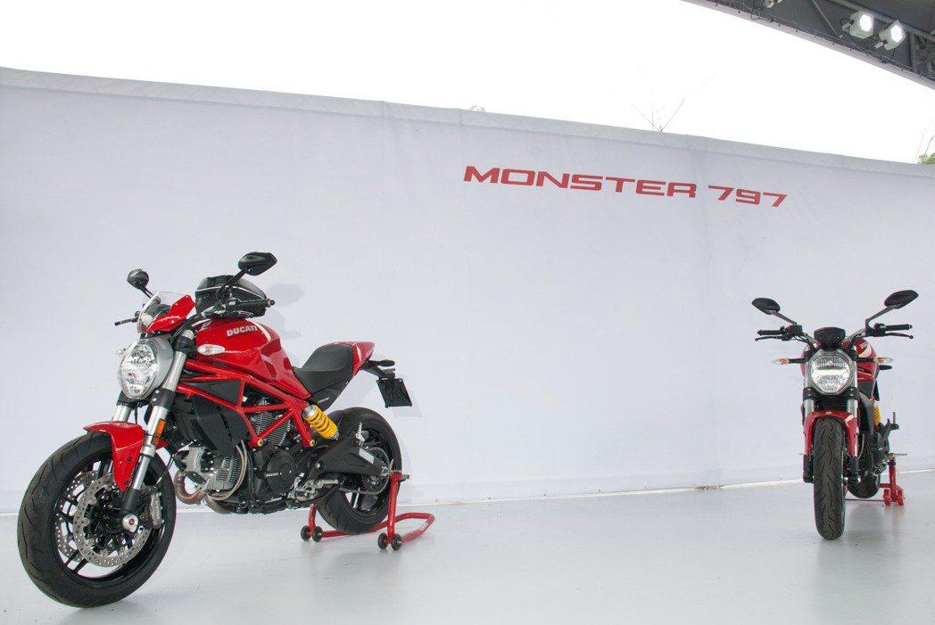 Ducati Monster 797。記者林昱丞/攝影
