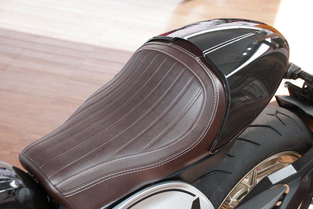 Ducati Scrambler Café Racer單座蓋。記者林昱丞/攝影