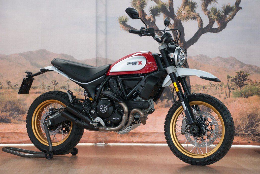 Ducati Scrambler Desert Sled。記者林昱丞/攝影