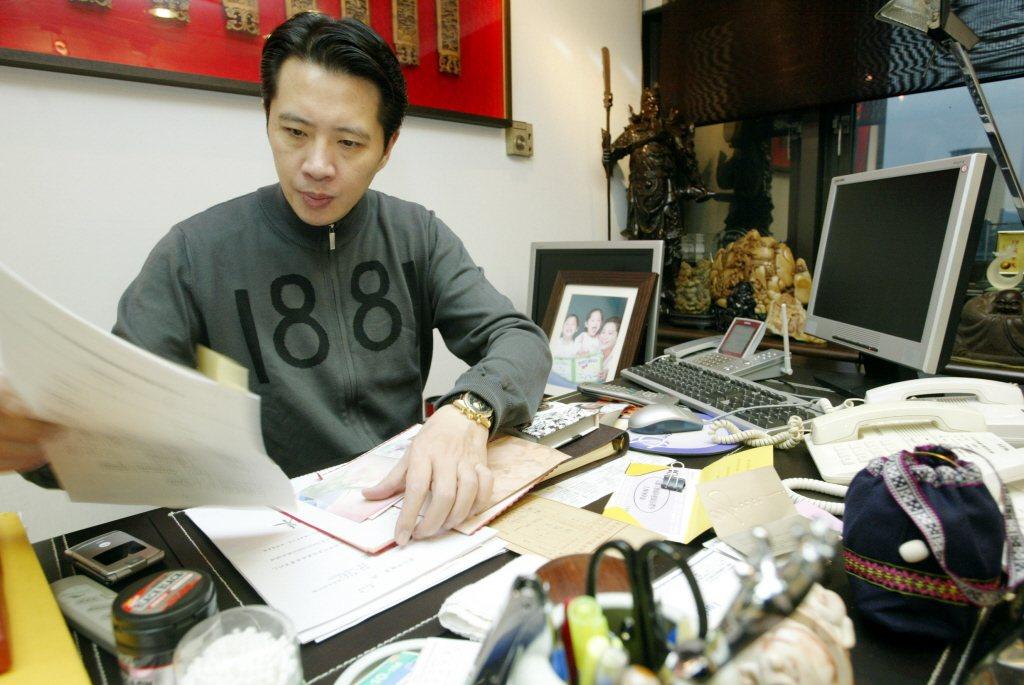 台北市議員歐陽龍。 圖/聯合報系資料照