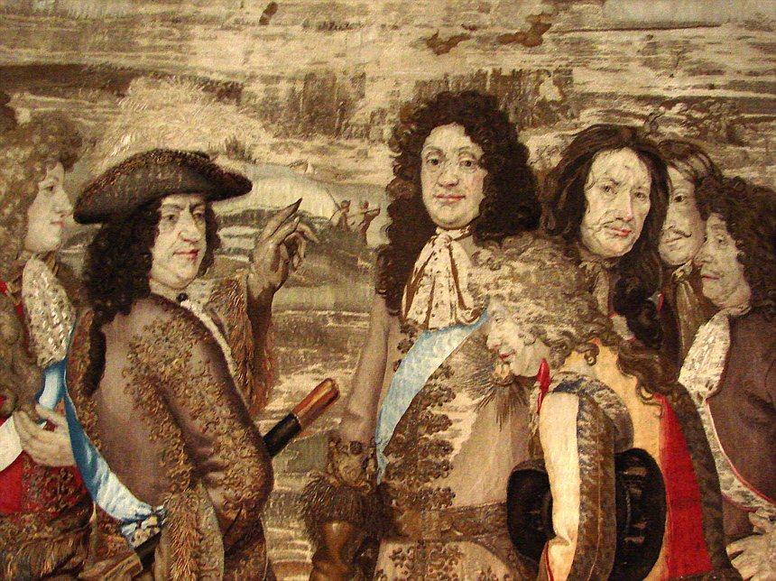 圖為克里斯蒂安五世(Christian V.,1646年4月15日-1699年8...